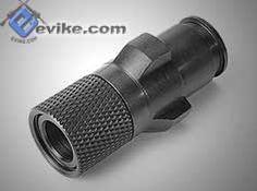 G MP5 steel flashhider w/ 14mm- threading. ;$20