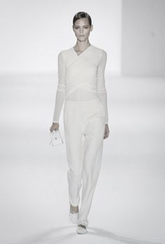 All white clothing.