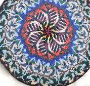 Ravelry: Kolla cushion cover pattern by Hazel Tindall