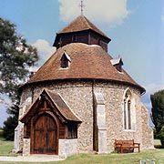 Knights Templar:  Little Maplestead Church of the #Knights #Templar, Essex, England.