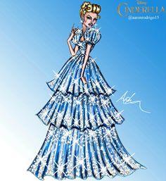 Disney Princesses Couture Collection - Cinderella by Aaron Rodrigo / IG: @aaronrodrigo_