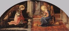 The annunciation, Fra Fillipo Lippi
