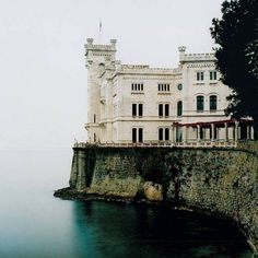 Miramare Castle Triese. Photo by jennifer.hayward.photography