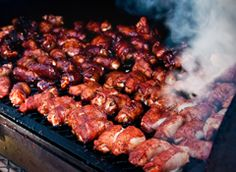 Pellet Grilled Bacon Wrapped Shrimp - Green Mountain Grills - Lindsey Thorne - Re-Wilding Green Mountain, Grilled Bacon Wrapped Shrimp, Grilled Shrimp Recipes, Grilled Meat, Pellet Grill Recipes, Grilling Recipes, Smoker Recipes, Game Recipes, Traeger Recipes