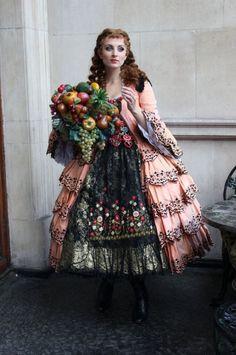 West End Aminta costume as worn by Katy Tereharne