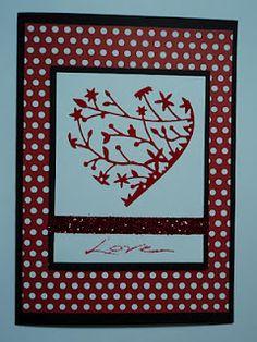 Valentine card-Card Corner by Candee