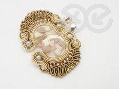 soutache earrings by Alina Tyro-Niezgoda tenderdecember.eu