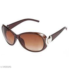 Sunglasses Classy Women's Sunglass Material: TR 90 Size: Free Size Description: It Has 1 Piece Of UV Protected Women's Sunglass Sizes Available: Free Size   Catalog Rating: ★4.3 (711)  Catalog Name: Classy Women's Sunglasses Vol 16 CatalogID_182254 C72-SC1084 Code: 452-1406949-135