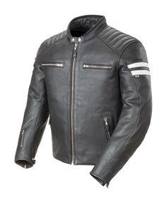 28714cc009807 Joe Rocket Classic  92 Jacket   10% ( 32.00) Off! Black Leather Motorcycle  Jacket ...