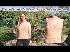 Tutoriales y Patrones de Crochet y Dos Agujas Young Living, Amanda, Knitting, Shorts, Videos, Women, Fashion, Vestidos, Milk