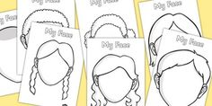 FREE Blank Faces Templates (downloaded)