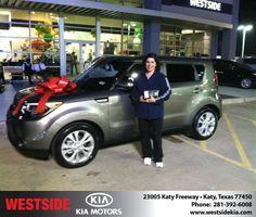 #HappyBirthday to Zaira Duarte from Ricardo  Navarro at Westside Kia!