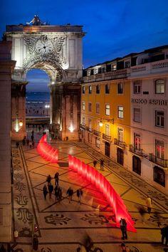 Augusta Street - Lisbon, Portugal