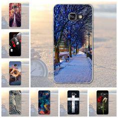 Voor samsung galaxy a3 2016 a310 a310f dier landschap stad patroon rubber tpu soft telefoon cover case voor samsung a3 2016 fundas
