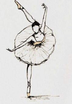 Ballard Dancer Drawing