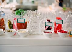 """Yes Please. """"Let's feather their nest"""" couples baby shower complete with a bloody mary station. Cute."""