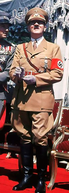 Adolph Hitler....the Sub Human Monster who set the Conduct and Standards for every Dictator and Criminal Politician since 1933.