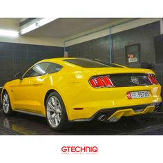 #Ford Mustang GT. Protected by Gtechniq Stockist Gtech 🌐 PROTECT THE THINGS YOU LOVE .إحمى كل ما تحب 🔴#Gtechniq