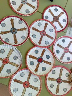 Las manualidades de mis niños: nuestro escudo romano