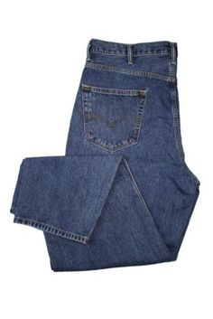 Levis Jeans 560 Comfort Fit Tapered Leg Dark Stonewash Pants New Size 40/34