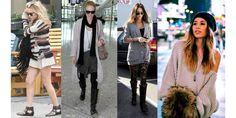 Suéteres Grandes na Moda