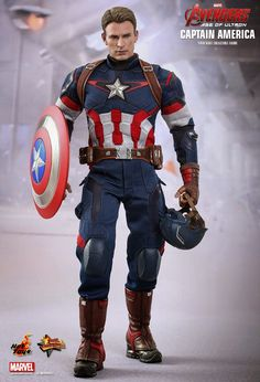 Age of Ultron Hot Toys: Captain America