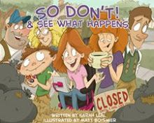 A cool picture book series.  The main character uses an AAC device to communicate.  Love this!
