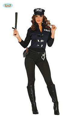 Damen Sexy Polizistin Kostum Ca 39 Kostum Idee Zu Karneval