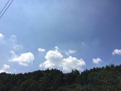 2017년 9월 8일의 하늘 #sky #cloud #moutain