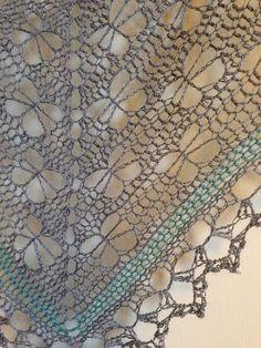 Ravelry: Glittertind's Butterfly stitch prayer shawl