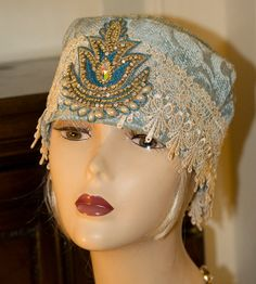 1920s vintage inspired cloche hat hand made in the by aileens4hats, £25.00