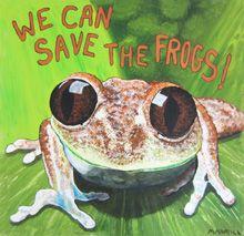 Michele Hamill Frog Art