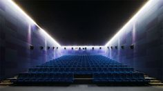 The Light House Cinema at Smithfield in Dublin, Ireland. DTA Architects. Designing the new movie theater. Via The Cool Hunter