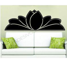 Adesivos Dicolar - Adesivo de Parede Cabeceira Floral