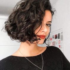 40 of the Chic Short Bob Haircuts and Hairstyles to Copy in 2019 40 of the Chic Short Bob Haircuts and Hairstyles to Copy in 2019 Related posts:Fortune - Gabor WigsNew Short Wavy Hair Ideas in 201999 Best Short Haircuts Ideas For Men To Try In 2019 Cute Short Curly Hairstyles, Curly Hair Styles, Short Bob Haircuts, Curly Hair Cuts, Hairstyles Haircuts, Short Hair Cuts, Curly Hair Bob Haircut, Haircut Short, Curly Short Bobs