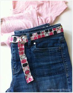 Simple Fabric Belt