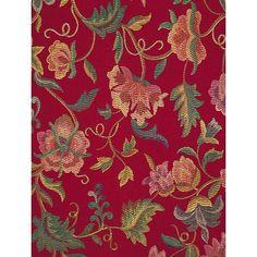Il Ricamo Rosso, fabric by Etro in www.knitea.com
