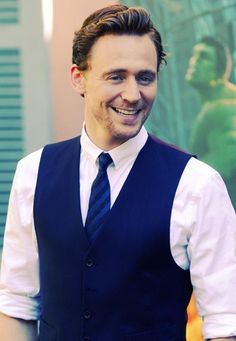 Tom Hiddleston... something lusciously geeky about him. ..