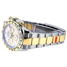 Want a great deal on the Rolex Daytona in steel & yellow gold with white dial Great service, great prices, visit GWS today. Burberry Men, Gucci Men, Rolex Daytona Steel, Watches For Men, Men's Watches, Tom Ford Men, Hugo Boss Man, Calvin Klein Men, Audemars Piguet