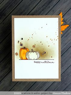 """""""Some Pumpkins"""" Card 