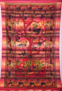Tree Of Life Tapestries, Indian from jaipurihandicraft
