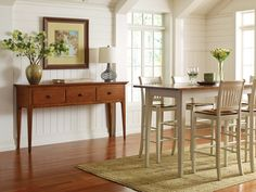 Nichols & Stone Hancock Collection by Stickley Furniture- shown here: Hancock Bistro Table