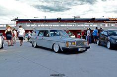 slammed Volvo at Wuste 2013