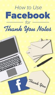 Here's why and how you should use Facebook for Thank You notes.   #seoserviceslosangeles #socialmediamarketingcompanies #seo #socialmediamarketingservices #internetmarketingagency #facebook, #seocompanies #bestseocompanies #professionalseoservice, #seoexpertservices, #socialmediamarketingcompanies, #socialmediamarketingservices, #internetmarketingagency