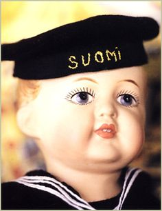 Old Finnish Sailor Doll