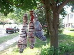 halloween outdoor ideas - bing images | Scary Outside Decorations to Make - Bing Images