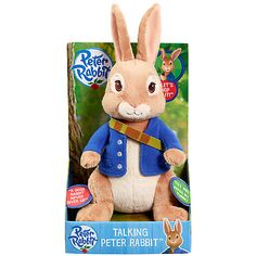 Buy Peter Rabbit Talking Soft Toy Online at johnlewis.com