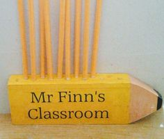 Teacher appreciation gifts Wooden pencil or pen holder handmade to order. Delivery available Mummy Crafts, Teacher Appreciation Gifts, Pen Holders, Gifts For Friends, Pencil, Delivery, Creative, How To Make, Handmade