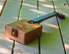 Cigar Box Ukulele by sterainstruments on Etsy, $100.00