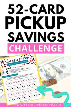 How much more money do you think you could save if you played saving money games? Games about saving money for adults, including money saving challenges. 52 Week Savings Challenge, No Spend Challenge, Money Saving Challenge, Saving Money Quotes, Money Saving Tips, Money Tips, Budgeting Finances, Budgeting Tips, Money Games